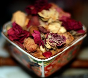 Home made Rose potpourri