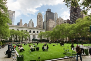 Bryant Park Courtesy: Wikipedia