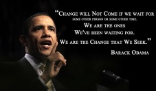 President Obamas Change Quote