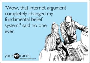 Internet Arguing