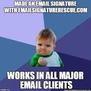 email sig meme